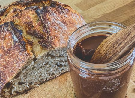 Hazelnut-chocolate spread recipe