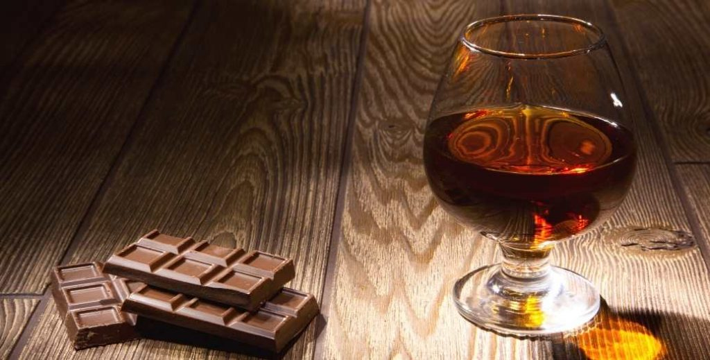 chocolate whiskey inclusions